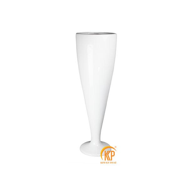 bình hoa composite 16012 dáng ly