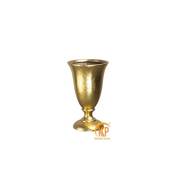 bình hoa composite 16083 dát vàng