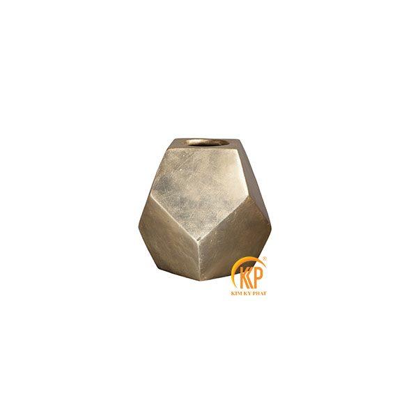 bình hoa composite 16089 sơn vàng