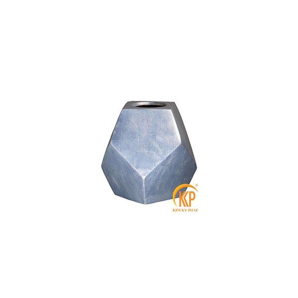 bình hoa composite 16089 dát bạc
