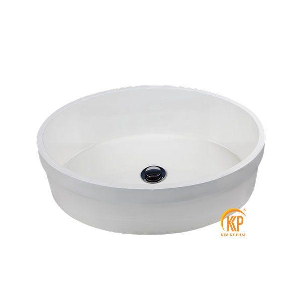bồn rửa lavabo composite 31010 tròn