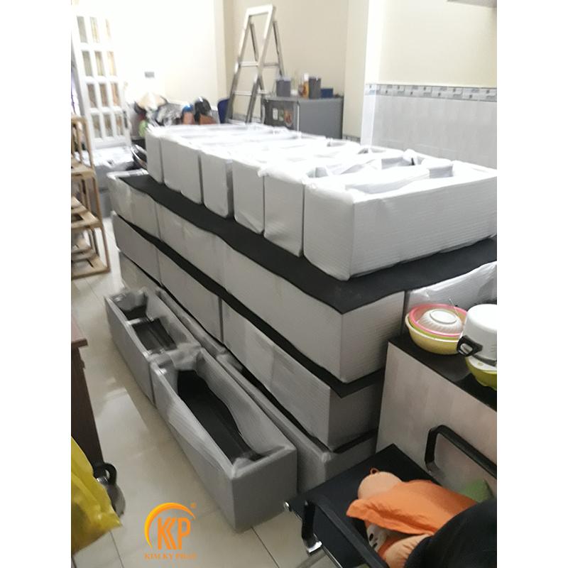 sản xuất chậu cây composite cho công trình