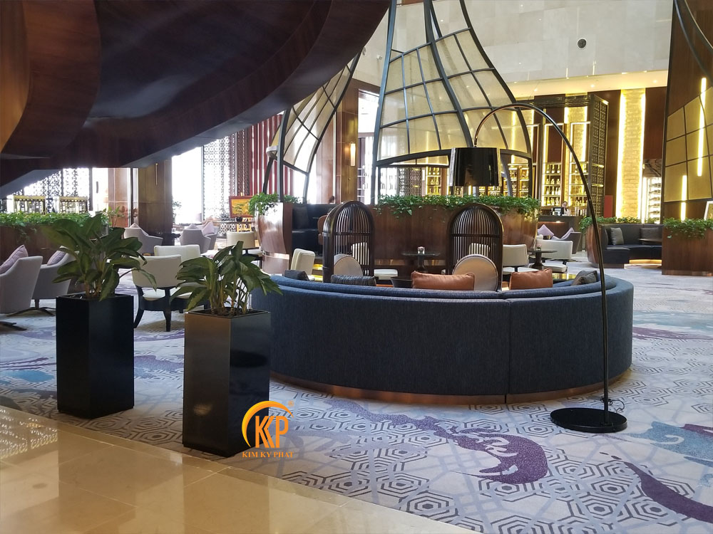 châu cây cho khách sạn thương hiệu kkp